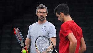 Djokovicin antrenörü Ivanisevicin de corona virüsü testi pozitif çıktı