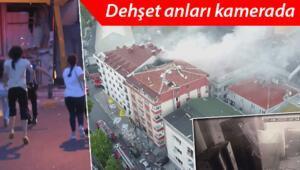 Son dakika haberi: İstanbul Bahçelievlerdeki tekstil atölyesinde patlama Dehşet anları kamerada