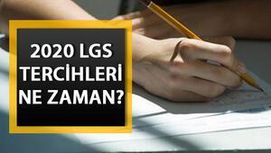 LGS tercihleri ne zaman yapılacak LGS 2020 soru ve cevap anahtarı ekranı