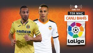 Avrupa Ligine katılım için kıyasıya bir maç Villarrealin Valenciaya karşı iddaa oranı...