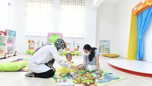 Bebekler için kütüphane