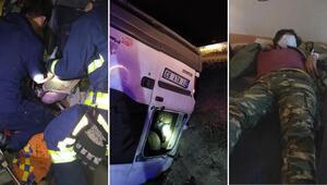 Vanda feci kaza: 1 ölü, 41 yaralı