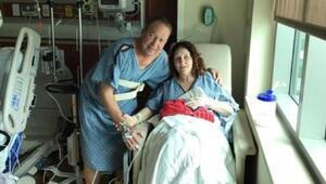 Ölen eşinin organlarıyla kurtarılan adama 15 yıl sonra böbreğini bağışladı