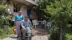 Engelli vatandaşların akülü sandalye sevinci