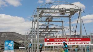 Kocasinan Belediyesi kurban kesim yerleri hazırlıklarına başladı