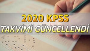 KPSS başvuruları ne zaman 2020 lisans önlisans ve ortaöğretim KPSS başvuru takvimi