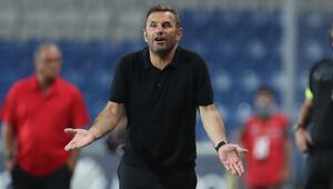 Başakşehir Teknik Direktörü Okan Buruktan Galatasaray maçı sonrası açıklamalar