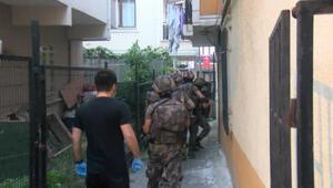 İstanbulda uyuşturucu satıcılarına operasyon: çok sayıda şüpheli gözaltında
