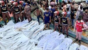Son dakika haber... Bangladeşte feribot battı Çok sayıda ölü var