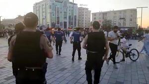 Esenyurt'taki 'Sosyal mesafesiz' müzik ve oturmaya polis müdahalesi