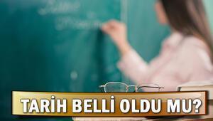 Okullar yeni dönemde ne zaman açılacak Telafi eğitim 31 Ağustosta başlıyor