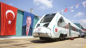 Raylar milli trenle 'elektrikleniyor'
