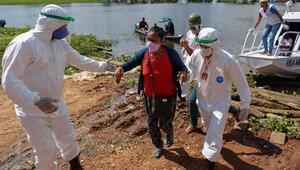 Son 24 saatte Brezilyada 692, Meksikada 473, Hindistanda 423 kişi koronavirüs (Covid-19) nedeniyle öldü