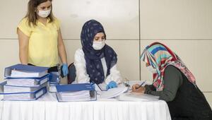 121 kadın personel daha istihdama katıldı
