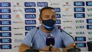 Cüneyt Dumlupınar: Rakip ayırt etmiyoruz. hedefimiz direkt Süper Lige çıkmak...