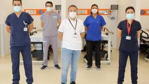 Covidli hastalar için Turuncu kodlu alan açıldı