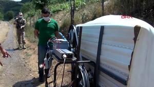 Hurda motosiklet jantıyla evine elektrik ürettiği çalışma, bakanlıklara bildirilecek