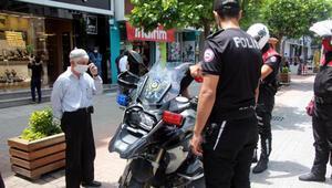 Boluda, 8 günde 240 kişiye maske cezası