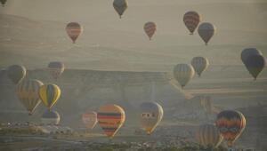 Kapadokyada sıcak hava balonu turları 1 Ekime ertelendi