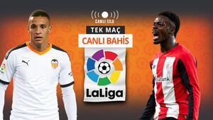 Celades sonrası Valencia kendine gelir mi Athletic Bilbaoya verilen iddaa oranı...