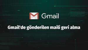 Gmailde gönderilen maili geri alma