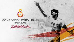 Galatasaray, efsane voleybolcu Paidar Demiri andı
