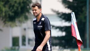 Trabzonspor, Galatasaray hazırlıklarını sürdürdü Ekuban ve Nwakaeme...