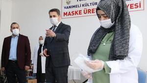 Tokat Belediyesi günlük 7 bin maske üretiyor