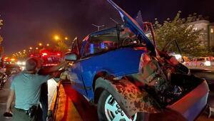 Samsunda yarışan otomobiller kaza yaptı: 6 yaralı