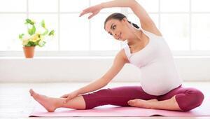 Hamilelikte spor yap, 7 kilodan kurtul
