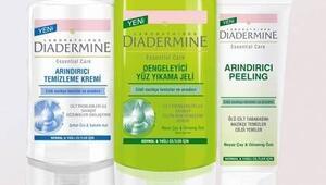 Diadermine'in Yeni Arındırıcı Temizleme Serisi