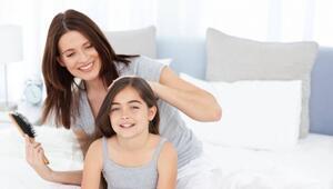 Çocuklarda saç dökülmesine karşı özel formül