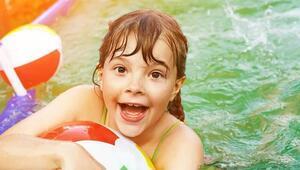Çocuklara havuzdan gelen 3 hastalık
