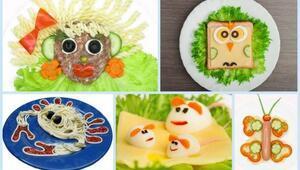 Çocuklar için eğlenceli ve lezzetli tarifler