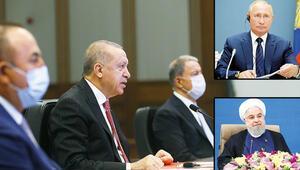 Üç lider Suriye'yi konuştu... Dijital zirvede çözüm vurgusu