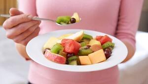 Yemekten sonra yenilen meyve kilo yapıyor