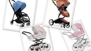 Birbirinden şık bebek arabası modelleri
