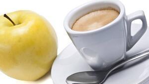 Elma ve kahve kanser riskini azaltıyor