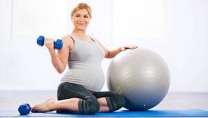 Hamileler de pilates yapar