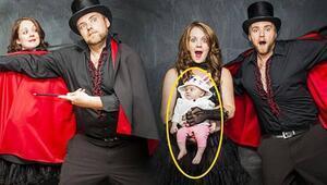 En eğlenceli hamilelik öncesi ve sonrası fotoğrafları