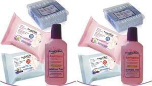 Sağlıklı temizlik için: Fresh'n Soft Makyaj Kiti