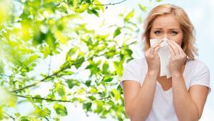 Dikkat bahar alerjisi çarpmasın
