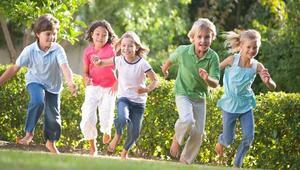 Çocuklar açık havada mutlu oluyor
