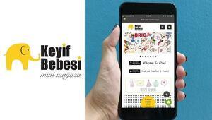 Keyif Bebesi Mobil Uygulamasıyla IOS ve Androidlerde