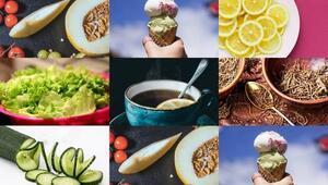 Yaz sıcaklarında daha iyi hissettirecek 9 besin