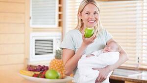 Yeni anne olanlar kilolarını dert etmesin