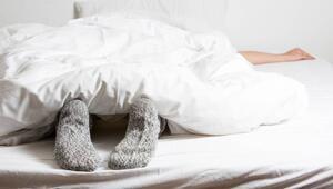 Çorapla uyumak uyku kalitesini artırır mı