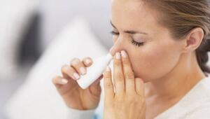 Burun spreyi tıkanıklığa geçici çözüm sağlıyor