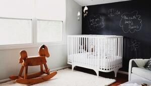 Şaşırtıcı derecede güzel 'siyah' bebek odaları