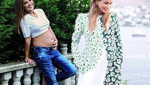 Hamileyken de güzelliğinden ödün vermeyen 20 ünlü anne